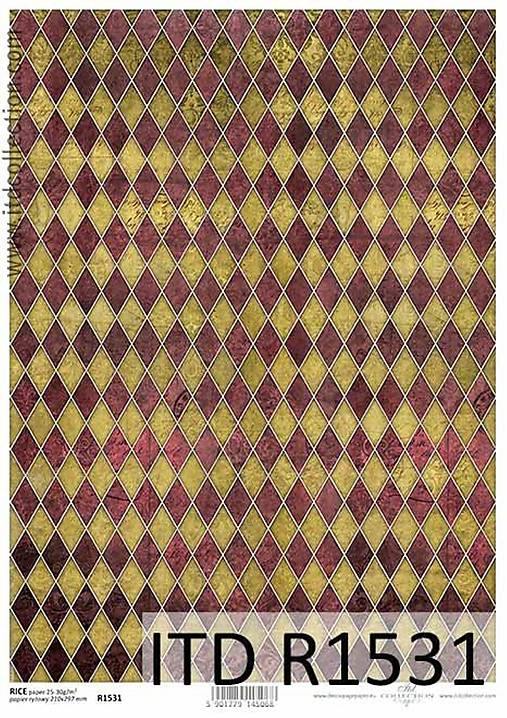ryžový papier ITD 1531