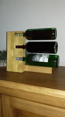 Pomôcky - Stojan na víno - 10271693_