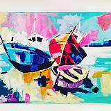Obrazy - Obraz maľovaný akrylom - 10273928_