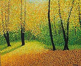 Obrazy - Podzimní romance - 10273707_