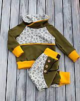 Detské oblečenie - súpravička zvieratká - 10272630_