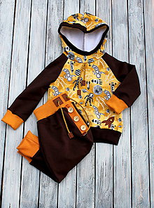 Detské oblečenie - súpravička astronaut - 10272607_
