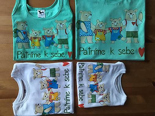 cb0ffc9c3dc0 Originálne maľované tričká pre celú rodinu   mon-art - SAShE.sk ...