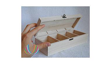 Polotovary - Krabička so 4 priečinkami LIFE - 10273363_