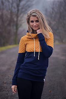 Mikiny - Mikina s velkou kapucí - 10274083_