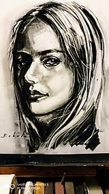 Obrazy - portrety - 10274626_