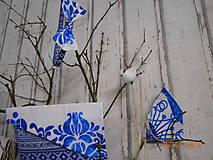 "Doplnky - Pánsky motýlik "" Majolica "" + vreckovka do saka - 10277039_"