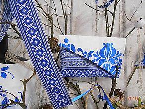 Opasky - Folkový opasok - krížikový - 10277163_