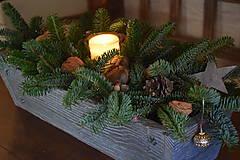 Nábytok - Debnička zo starého dreva - 10274619_