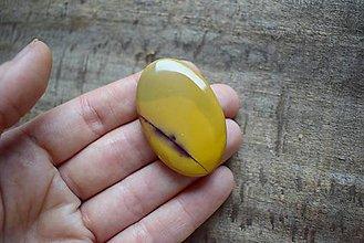 Minerály - Jaspis austrálsky - mookait kabošon - 10276052_