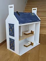 Hračky - domček pre bábiky old violet - 10274845_