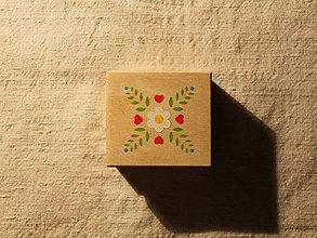 Krabičky - Maľovaná krabička malá - 10276467_