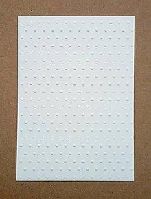 Papier - embosovaný papier bodky - 10274430_