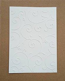 Papier - embosovaný papier vetvičky - 10274440_