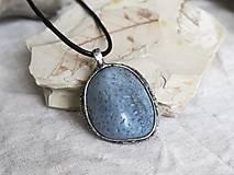 Náhrdelníky - Modrý koral - 10277269_
