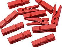 Polotovary - ST103 Štipec drevený 2,5 cm - 10276290_