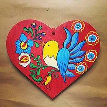 Kresby - Srdiečko vtáčikové - 10276555_
