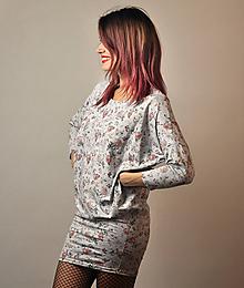 Šaty - Netopierie vreckové Rosalie - 10275499_