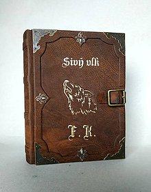 Papiernictvo - Zápisník so zapínaním na pracku - 10275450_
