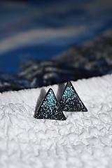 Náušnice - Trblietavé vrcholky hôr - 10276706_