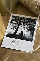 """Papiernictvo - Svadobné oznámenie """"Polaroid"""" - 10274406_"""