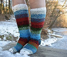 Obuv - colorful socks 2019 (v.39 - 40 ) - 10274777_
