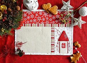 Úžitkový textil - Vianočné prestieranie No.24 :) - 10274915_
