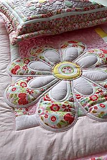 Úžitkový textil - Originál s kvetom No.10 :) - 10274982_
