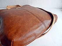 "Kabelky - LAURA ""Brown"" kožená kabelka - 10274602_"