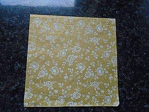Papier - zlatý vzor - 10275323_