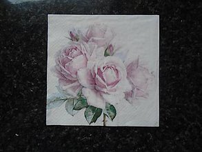 Papier - ruža - 10275379_