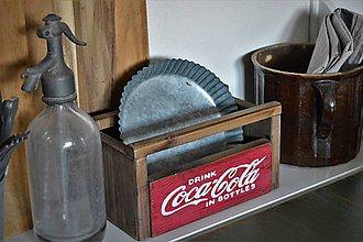 Nábytok - Stará Coca Cola debnička - 10274305_