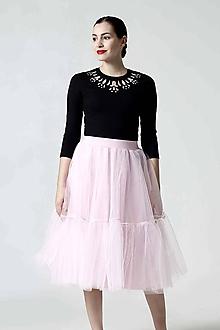 Tričká - Top Jewel pink - 10279135_
