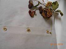"""Úžitkový textil - """"Benátska ruža""""- maľovaný vankúš na režnej bavlne, na výber 3 druhy vzorov - 10279784_"""