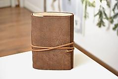 Papiernictvo - kožený zápisník ANATOLIJ - 10277513_
