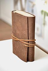 Papiernictvo - kožený zápisník ANATOLIJ - 10277514_