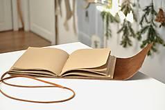 Papiernictvo - kožený zápisník ANATOLIJ - 10277517_
