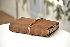 Papiernictvo - kožený zápisník ANATOLIJ - 10277519_