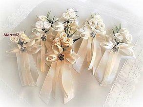 Pierka - Svadobné pierka pre rodičov a svedkov - 10277875_