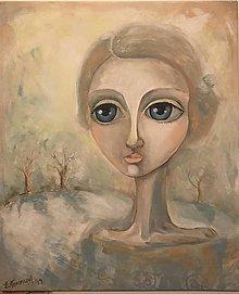 Obrazy - Lady Softness - reprodukcia - 10278779_