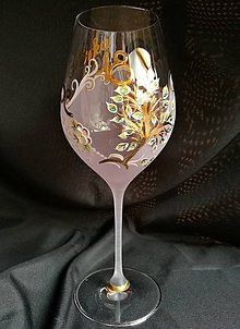 Nádoby - Jubilejný pohár so stromom - 10278613_