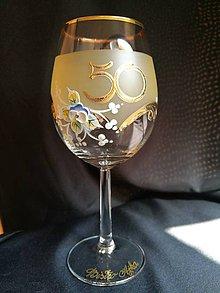 Nádoby - Jubilejný pohár vínko, vzor č. 100 - 10278669_