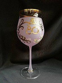 Nádoby - Jubilejný pohár vínko, vzor č. 27 - 10278736_
