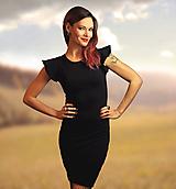 Šaty - Šaty Silhouette - všetky veľkosti - 10277967_