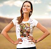 Tričká - Sada tričko + náušky - Z hniezda - 10278081_
