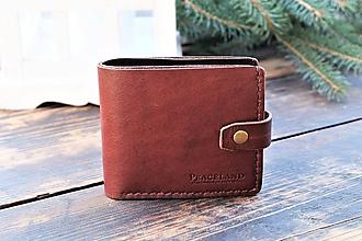 Peňaženky - Kožená peňaženka - 10279006_