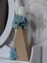 Svietidlá a sviečky - Svietnik Hortenzia - 10279025_