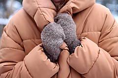 Rukavice - Alpaca palčiaky - 10280101_