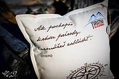 """Úžitkový textil - Vankúšik """" Ružica"""" - 10282324_"""