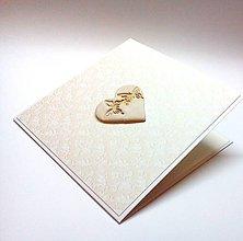 Papiernictvo - Pohľadnica ... jednoducho láska - 10281737_